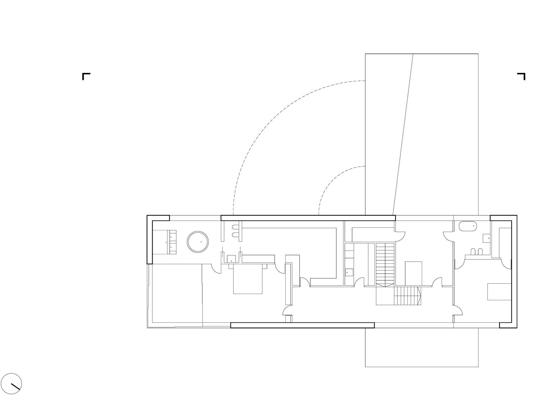 First Floor Plan © KWK PROMES Robert Konieczny}