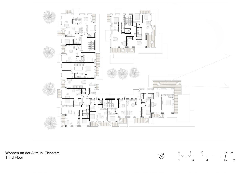Floor Plan Third Floor Behnisch Architekten}