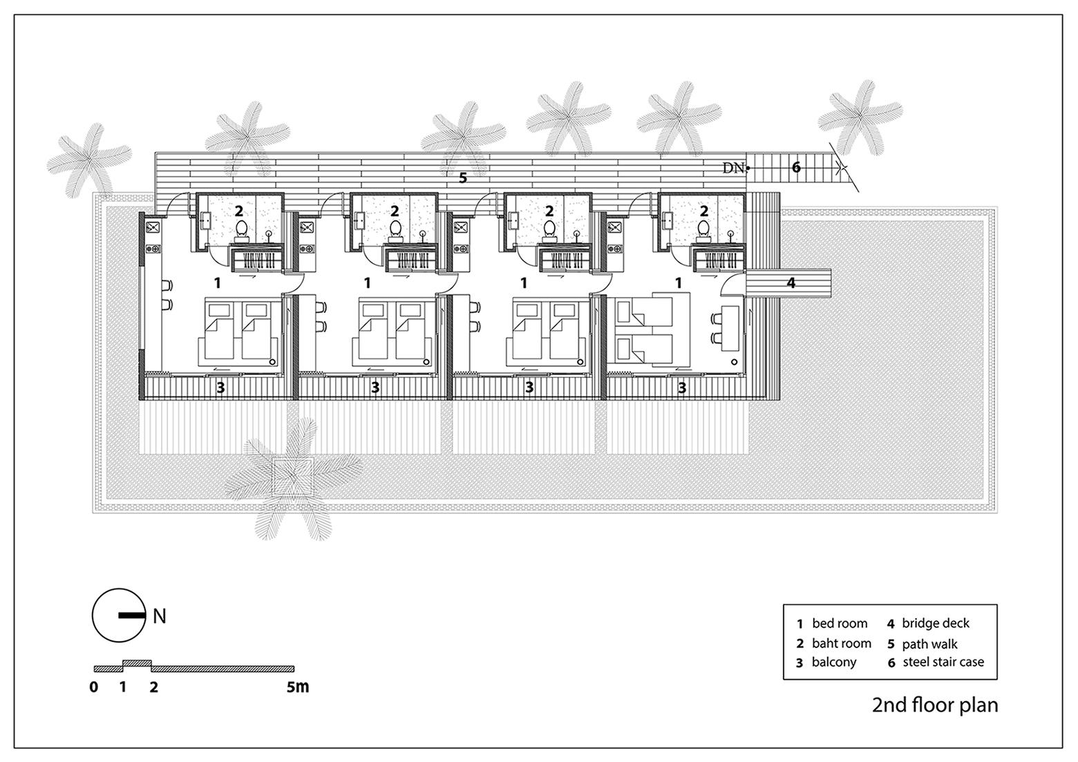 Second Floor Plan NPDAstudio}