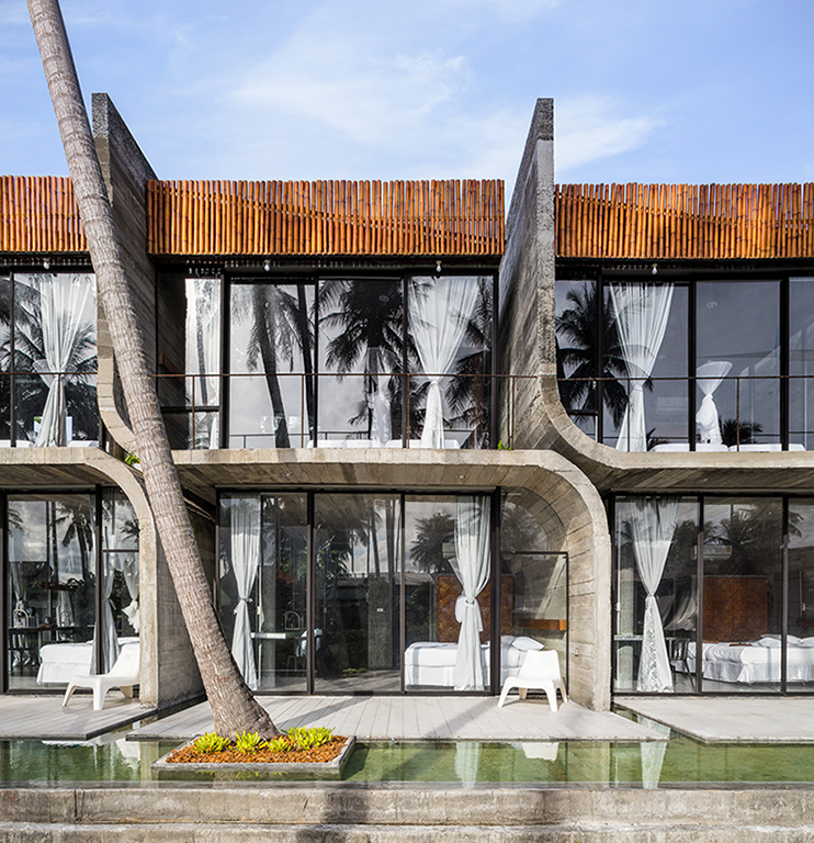 Front view : View from Coconut plantation Anotherspacestudio|Piamphon Chanpiam