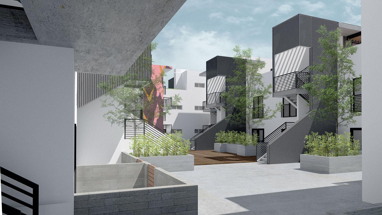 Courtyard Studio Antares A +E
