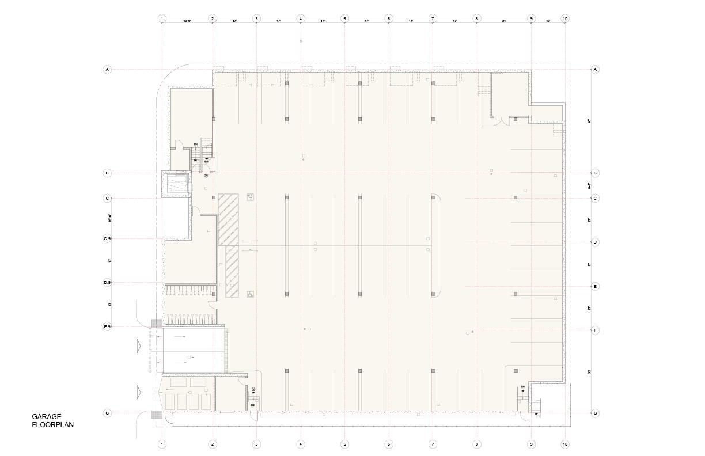 Plan Basement Studio Antares A +E}