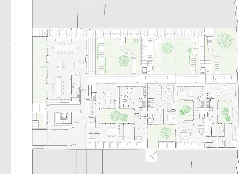 Planimetria generale piano terra DC10 Architects}