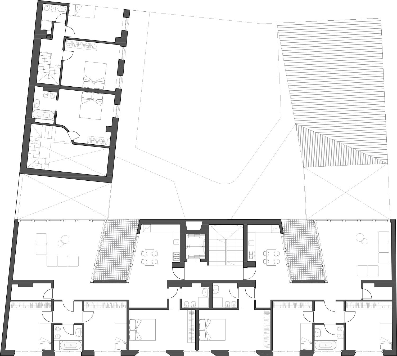 Third floor plan deamicisarchitetti}