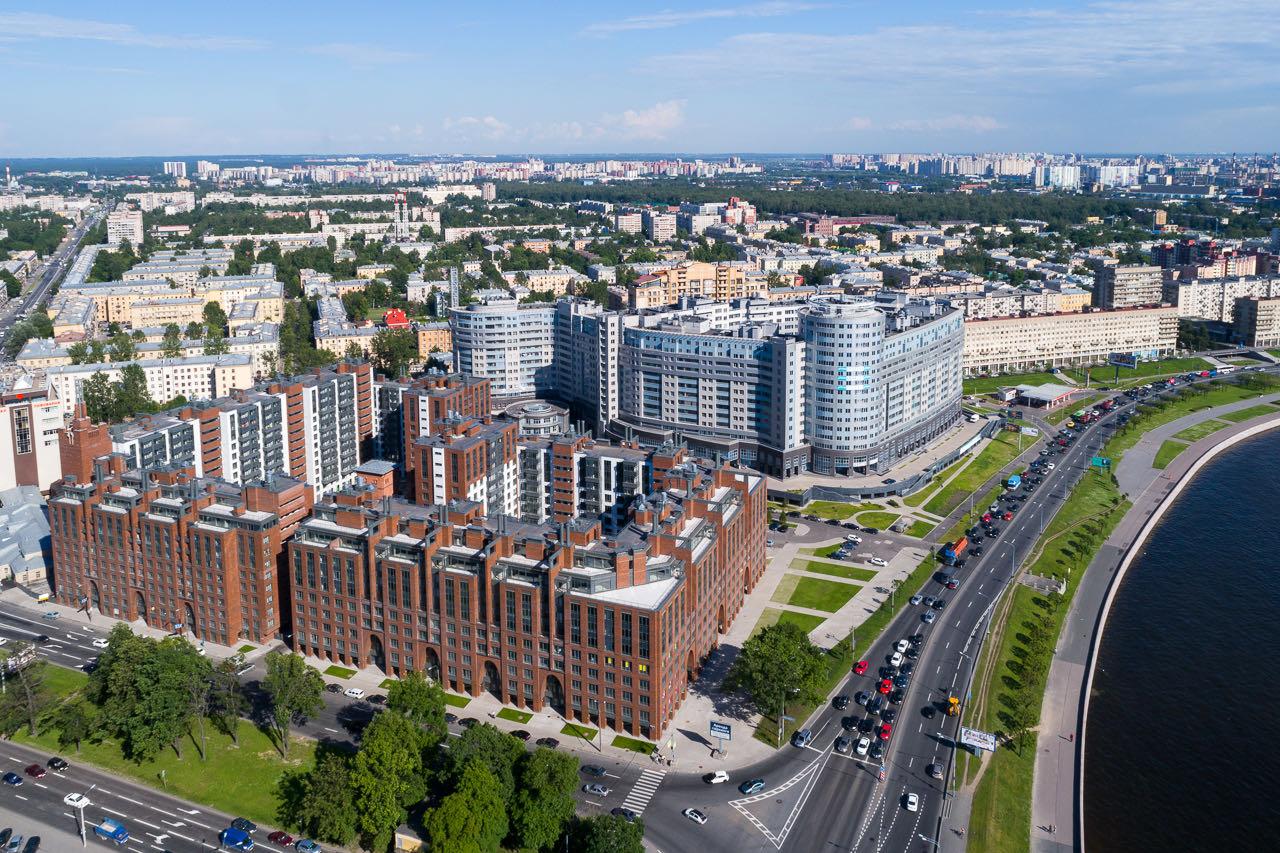 11. Residential complex: bird's-eye view 11. Ivan Smelov