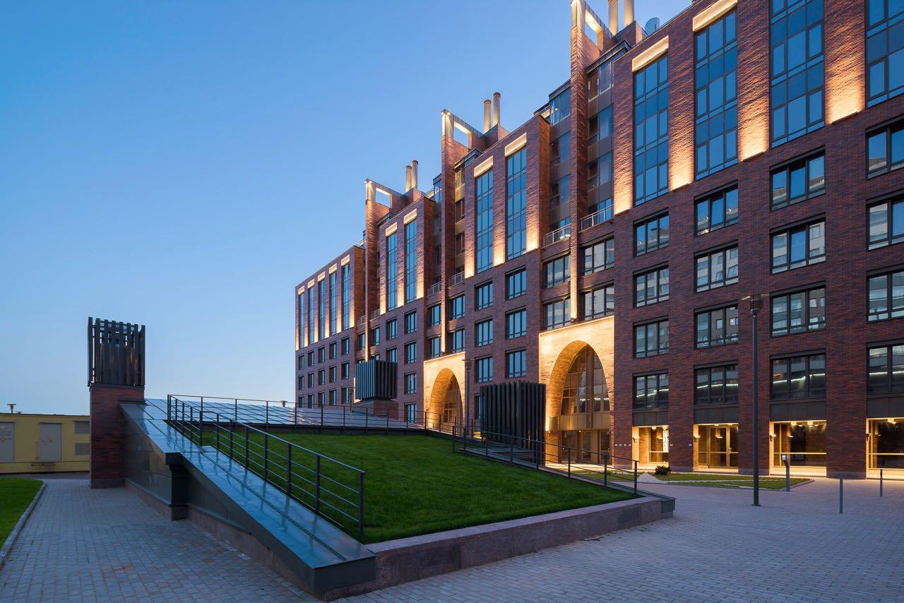 5. Residential complex: architecture lighting #1 5. Ivan Smelov