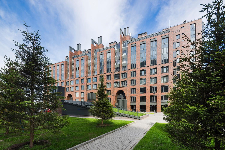 9. Residential complex: landscape view 9. Ivan Smelov