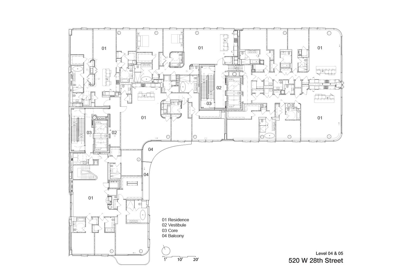 Level 4 & 5 Zaha Hadid Architects}