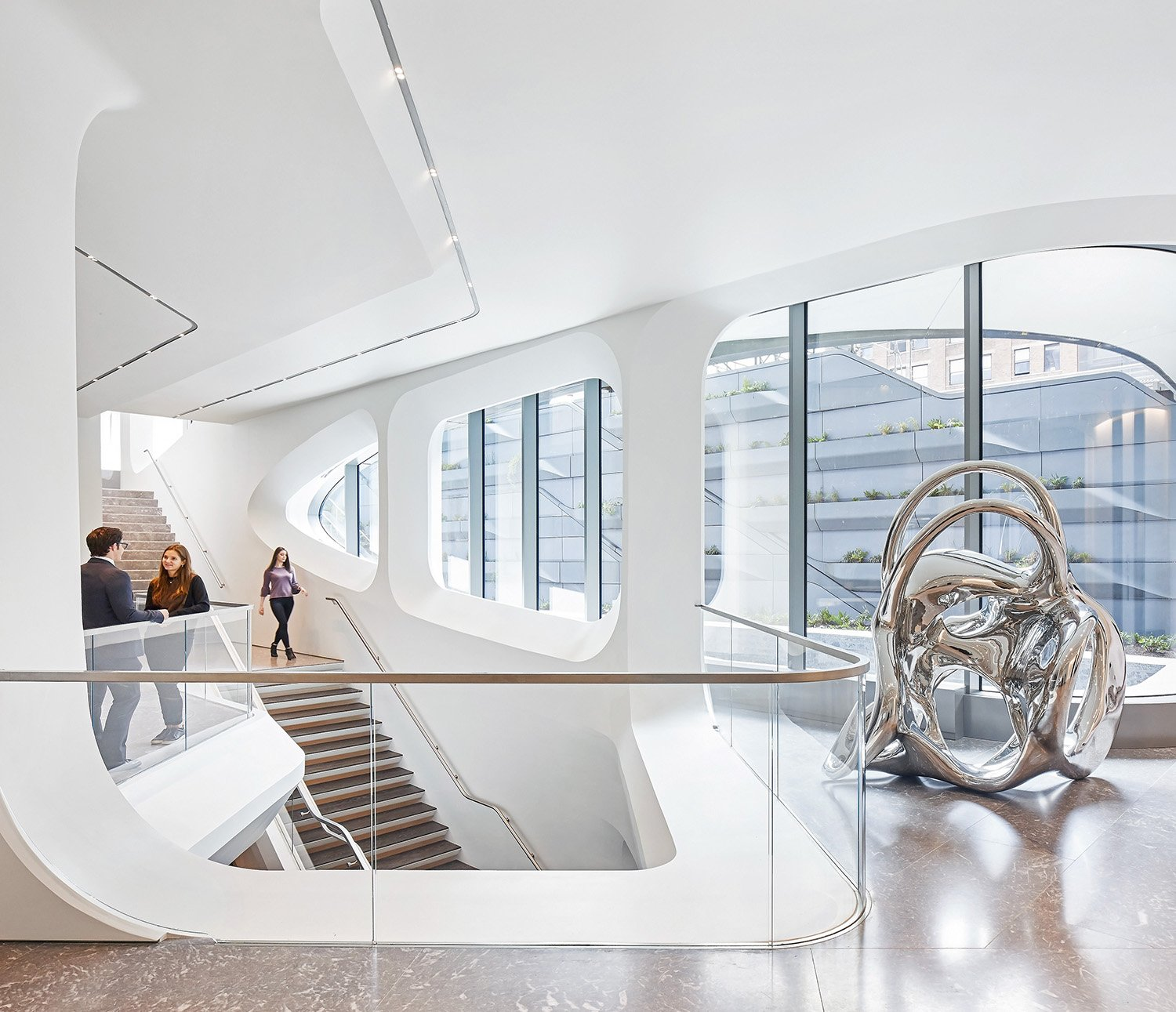 Interior Staircase Photograph by Hufton + Crow