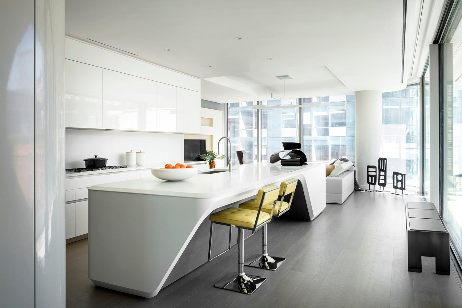Interior View Apartment Photograph by Scott Francis