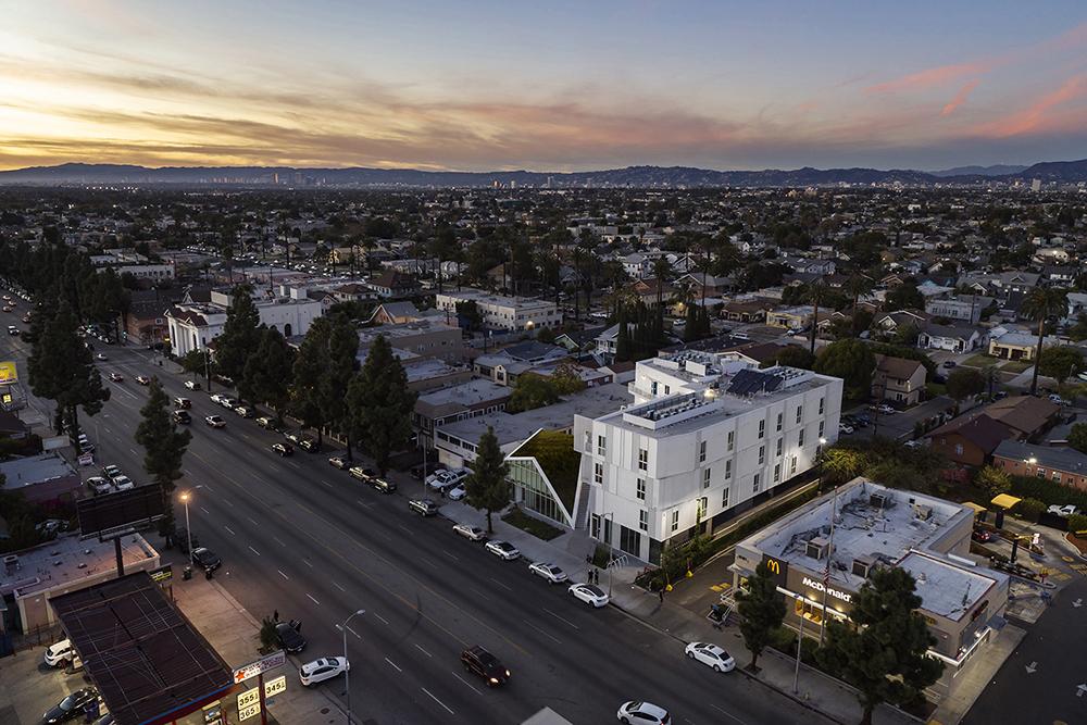 MLK1101 Supportive Housing Context Aerial Paul Vu