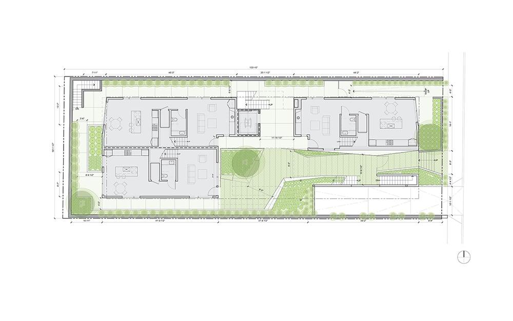 Floor Plan Lorcan O'Herlihy Architects [LOHA]}
