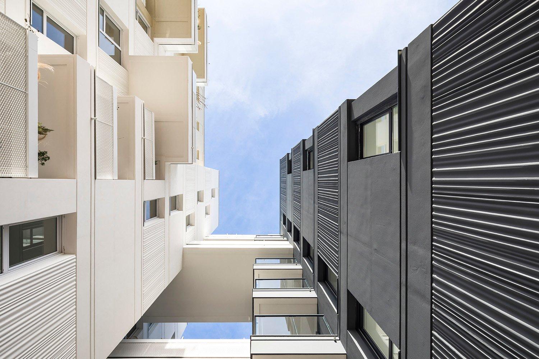 PETITDIDIERPRIOUX Architectes - 152 housing units in Villeurbanne - Walkways Sergio Grazia