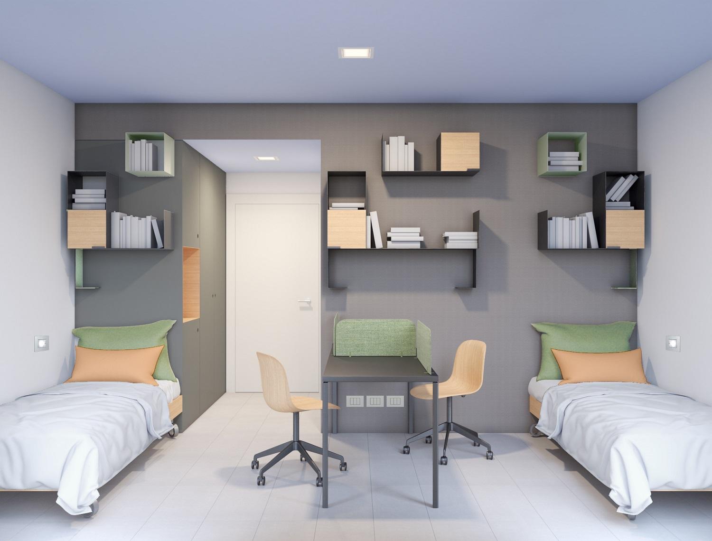 camera doppia GaS Studio