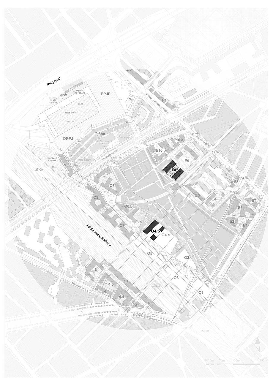 BAT - General location plan © AAVP ARCHITECTURE AND AIRES MATEUS E ASSOCIADOS}