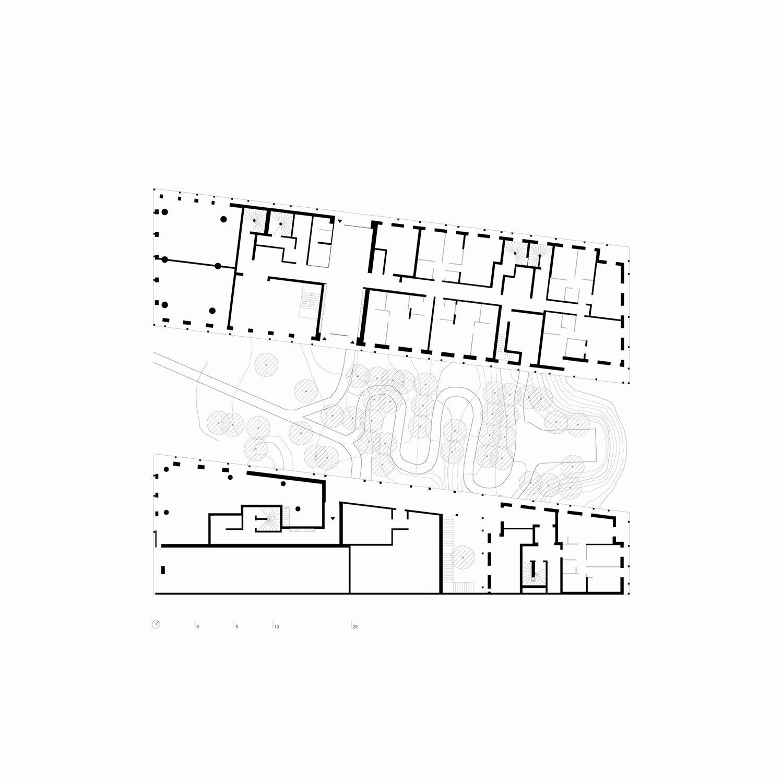 BAT - Ground floor © AAVP ARCHITECTURE AND AIRES MATEUS E ASSOCIADOS}
