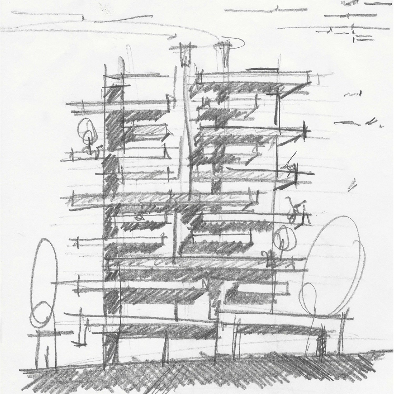sketch Alberto Torres