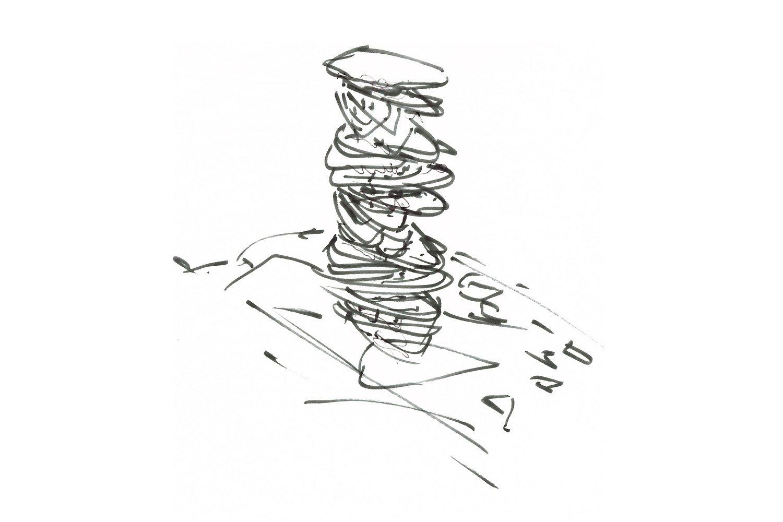 Concept Sketch AVA Andrea Vattovani Architecture