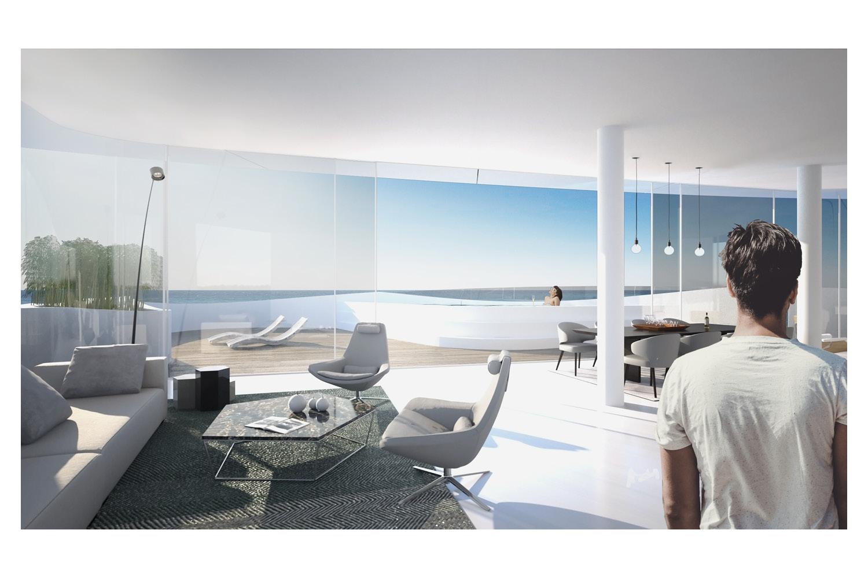 Apartment View IDDQD, AVA Andrea Vattovani Architecture