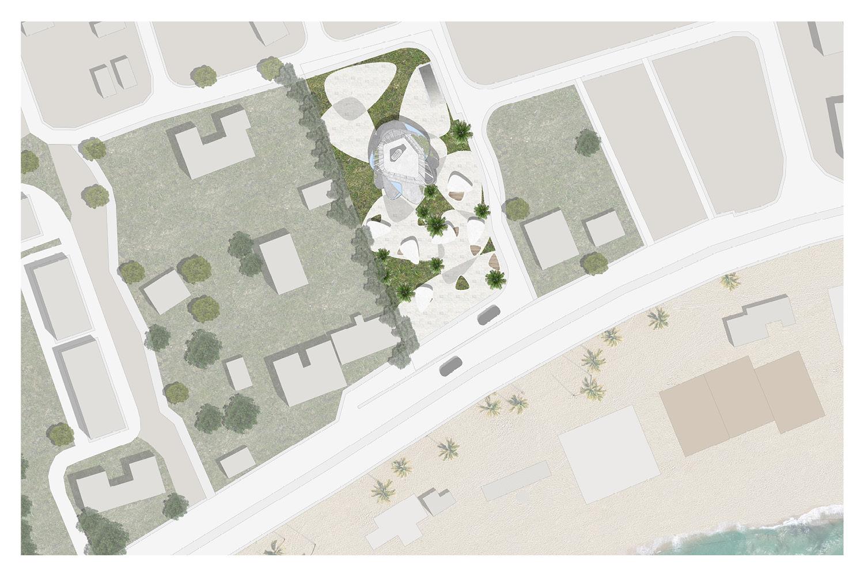 Site Plan AVA Andrea Vattovani Architecture}
