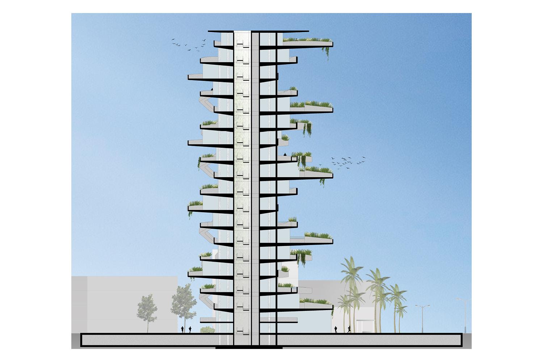 Section AVA Andrea Vattovani Architecture}