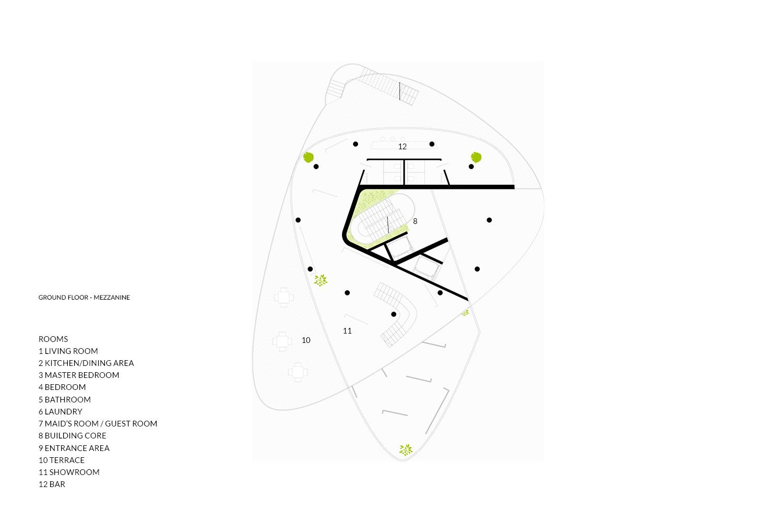 Ground Floor - Mezzanine AVA Andrea Vattovani Architecture}