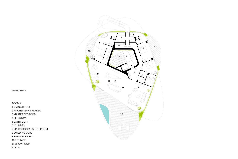 Simplex Type 1 AVA Andrea Vattovani Architecture}