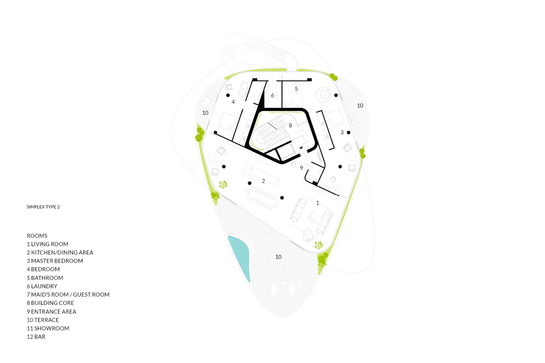 Simplex Type 2 AVA Andrea Vattovani Architecture}