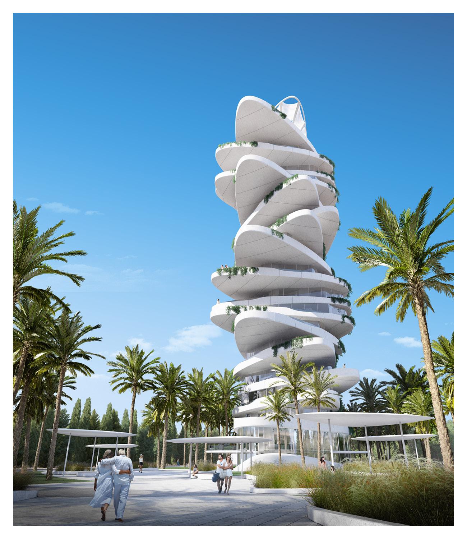 The Pebble Plaza IDDQD, AVA Andrea Vattovani Architecture