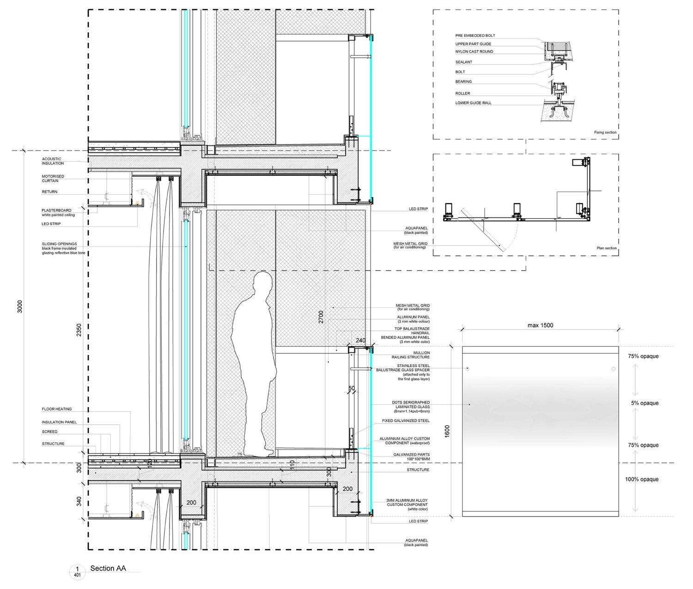 RG4 facade detail Peia Associati}