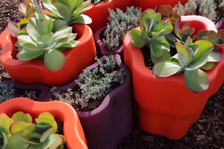 Rama Flor Planter System Gustavo Sosa Pinilla