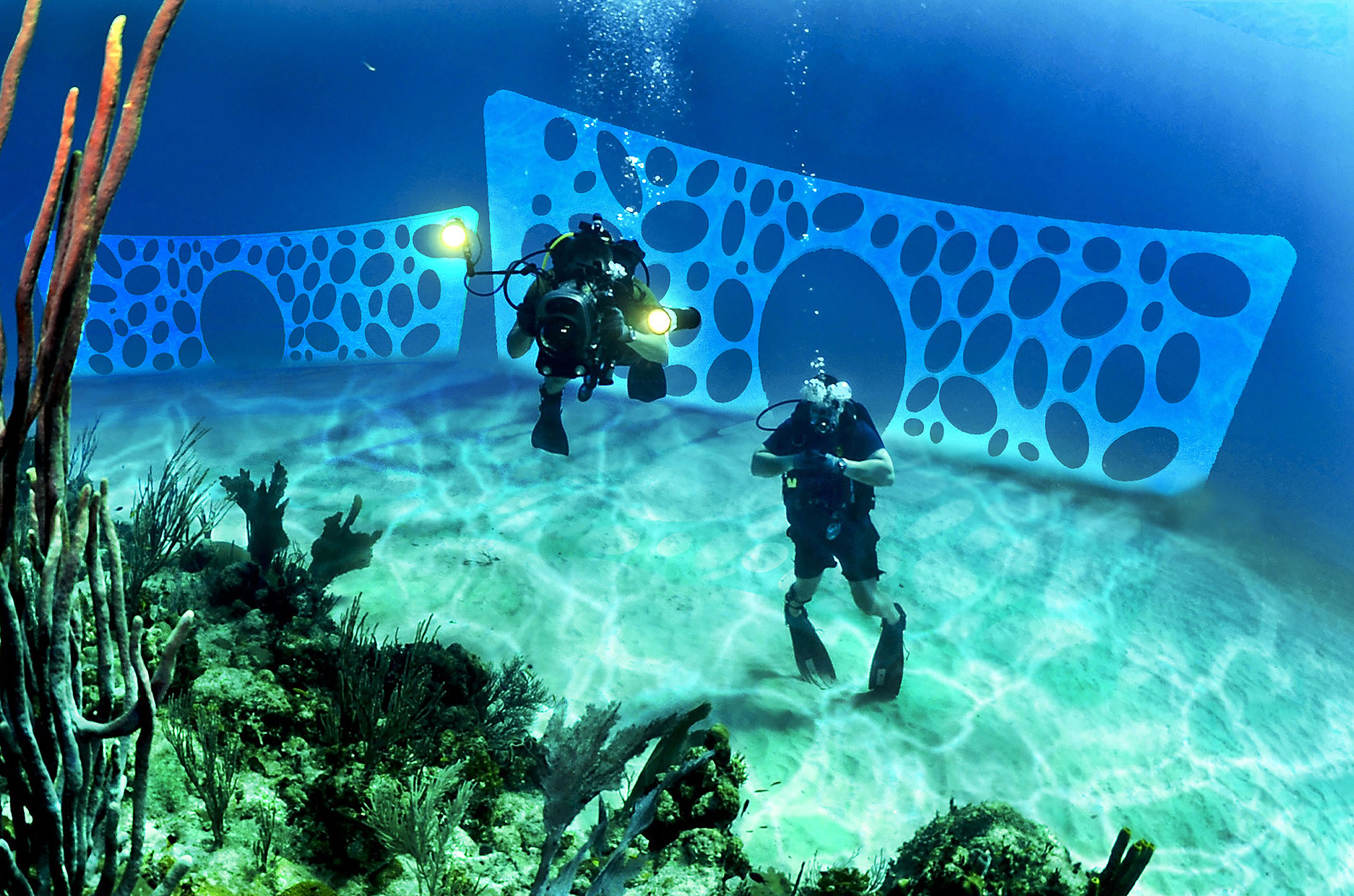Setting 3 - the underwater park Architetto Tommaso Di Pierro