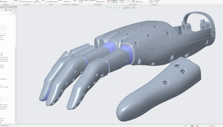 Modello 3D parametrico Elastico Disegno}
