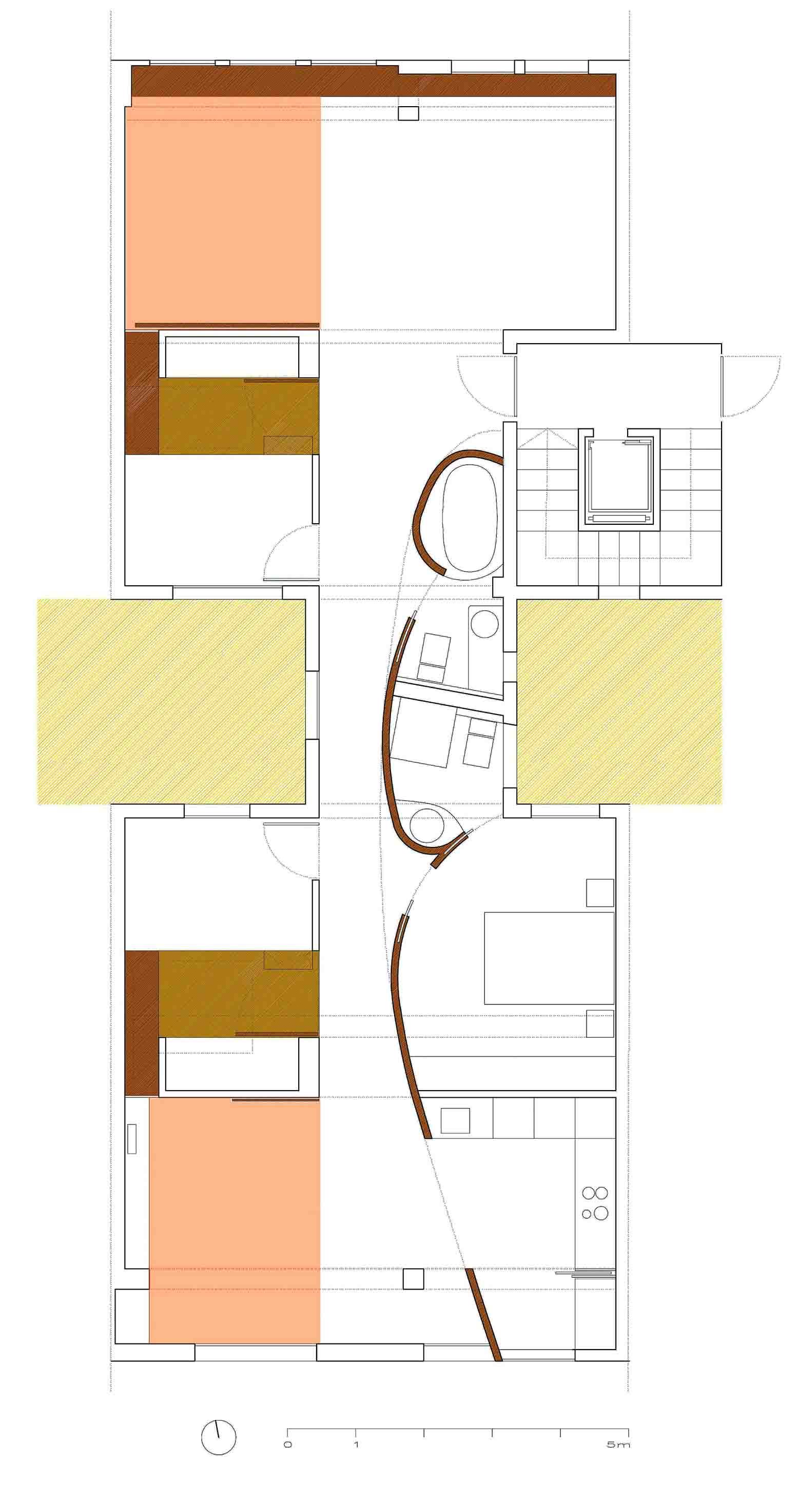 Interior design Santiago Barge}