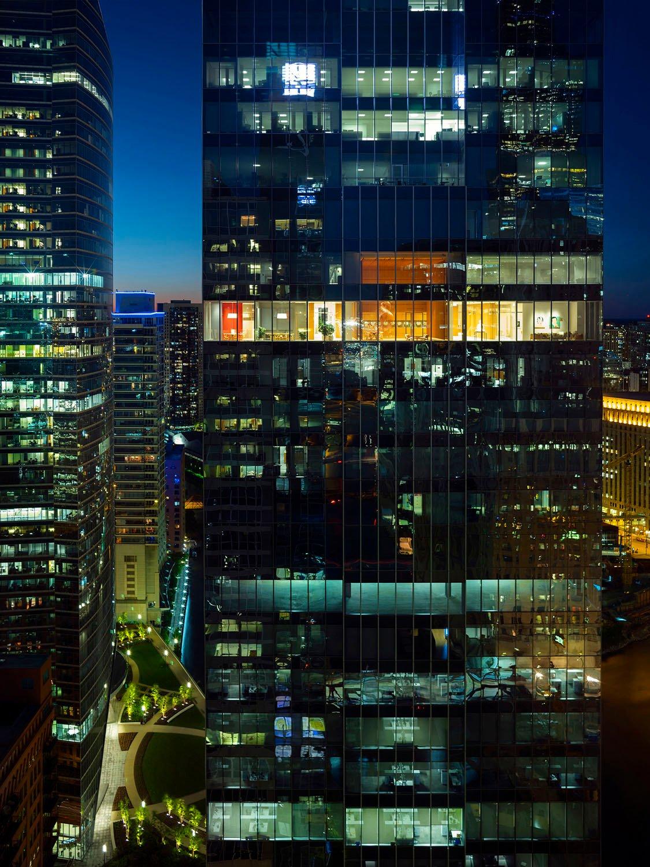 Il grattacielo e gli Uffici Direzionali del 32° piano Nic Lehoux