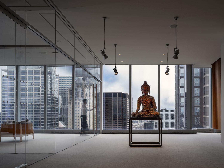 Lo spazio distributivo e l'opera di Gonkar Gyatso Nic Lehoux