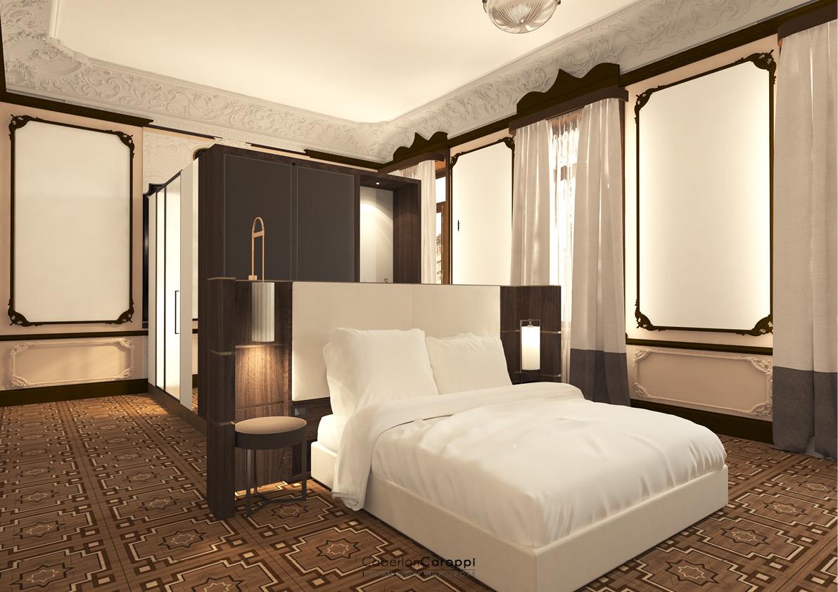 DoubleTree by Hilton_ Historical room CaberlonCaroppi Architetti Associati}