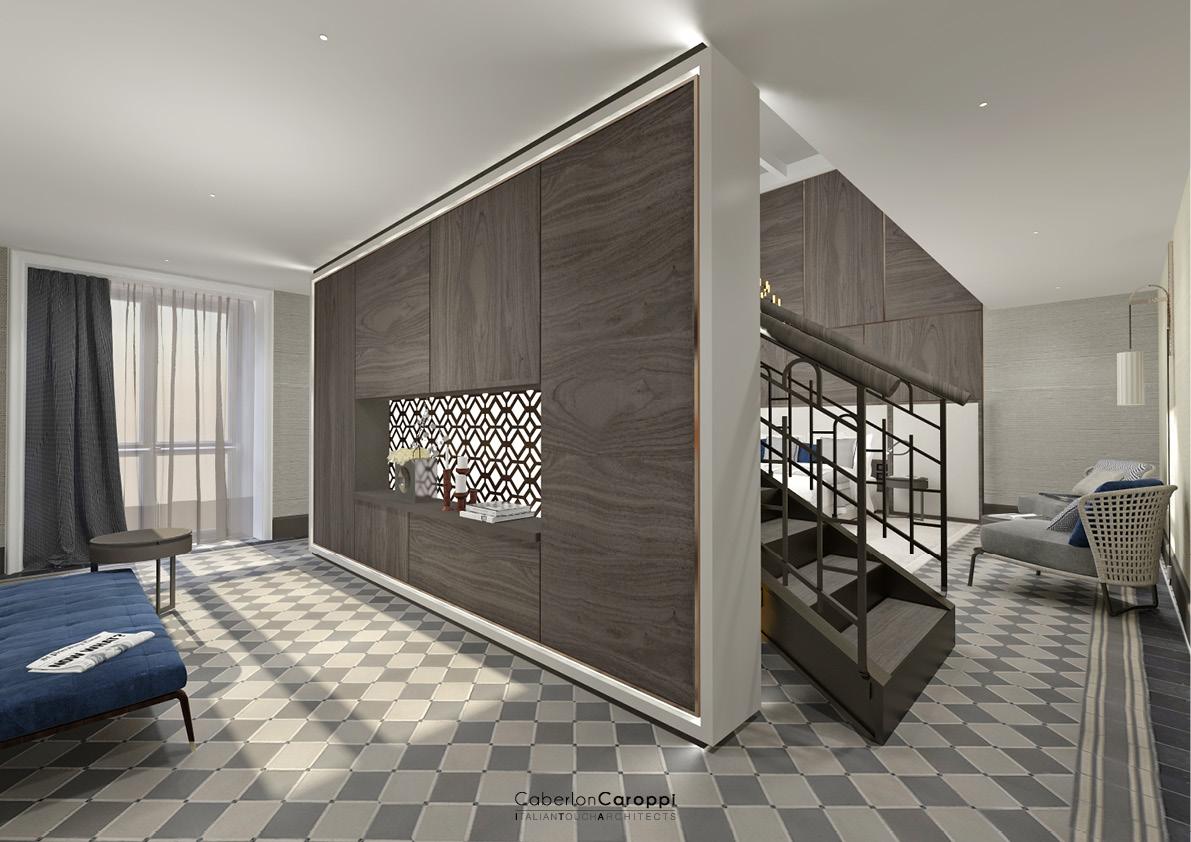 DoubleTree by Hilton_ Suite CaberlonCaroppi Architetti Associati}