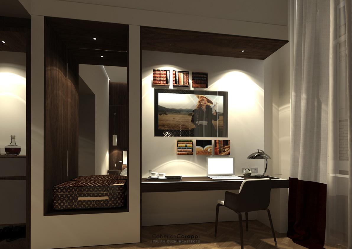 DoubleTree by Hilton_ Standard room CaberlonCaroppi Architetti Associati}