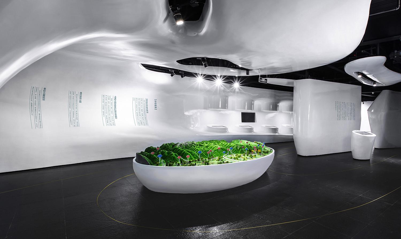 Second floor exhibition area Xiao Yuan