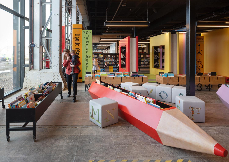 Mecanoo , LocHal Library