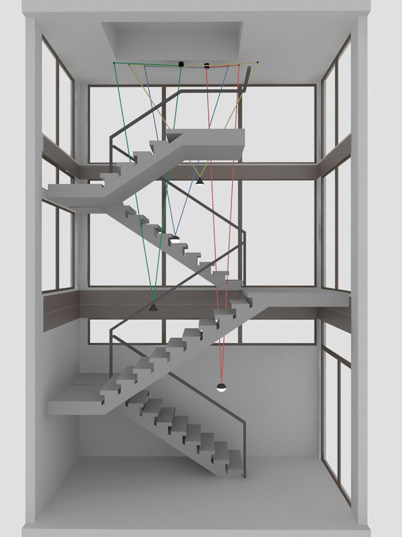 Stair Study 3 Reddymade}