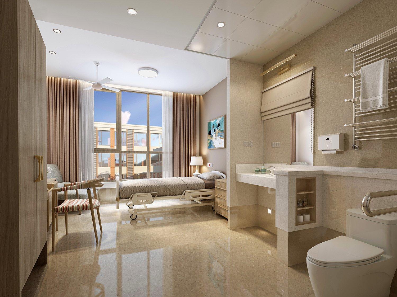 ward area: single room WS Architects