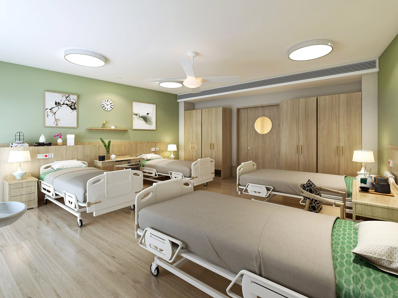ward area: quadruple room WS Architects
