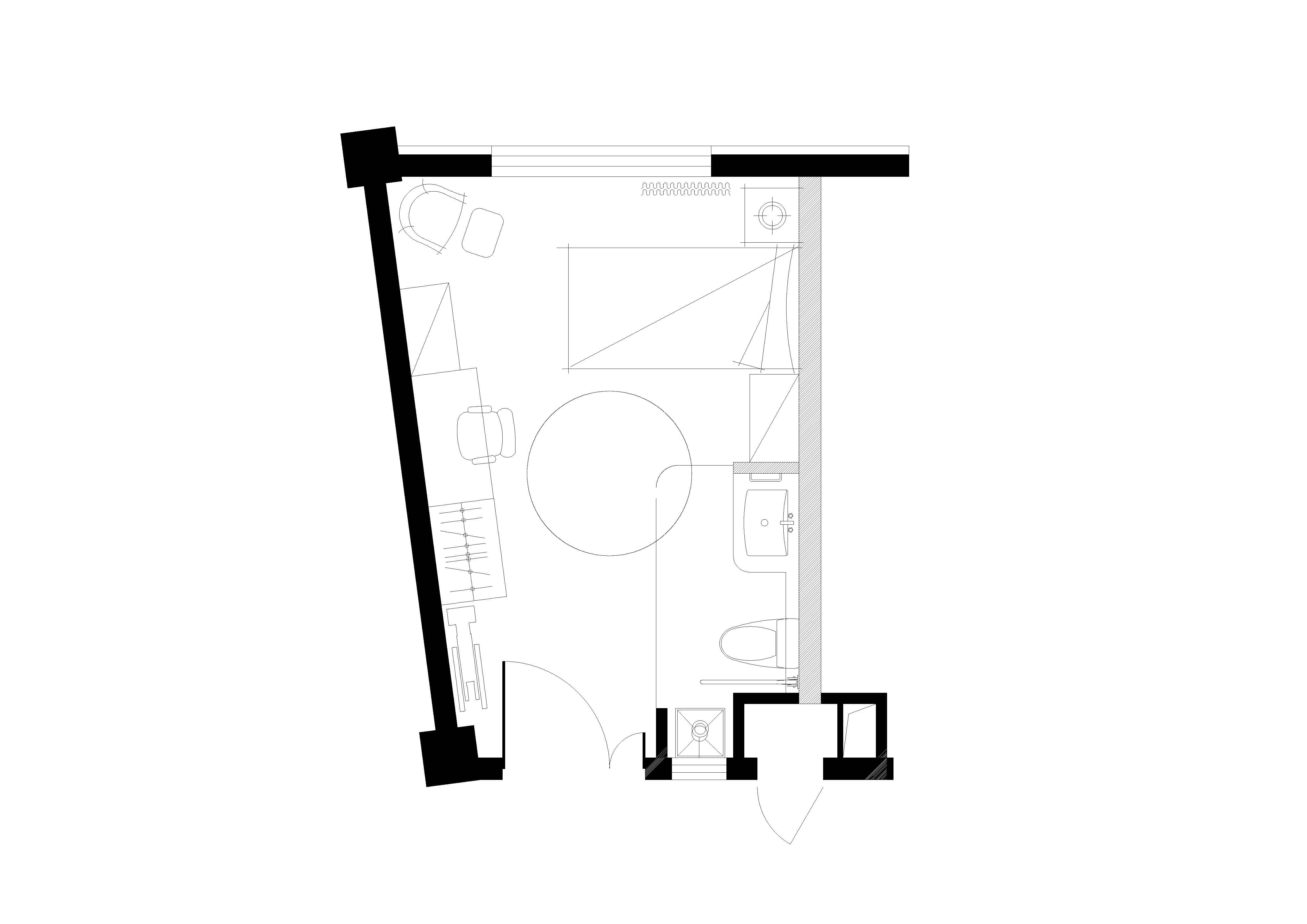 single room WS Architects}