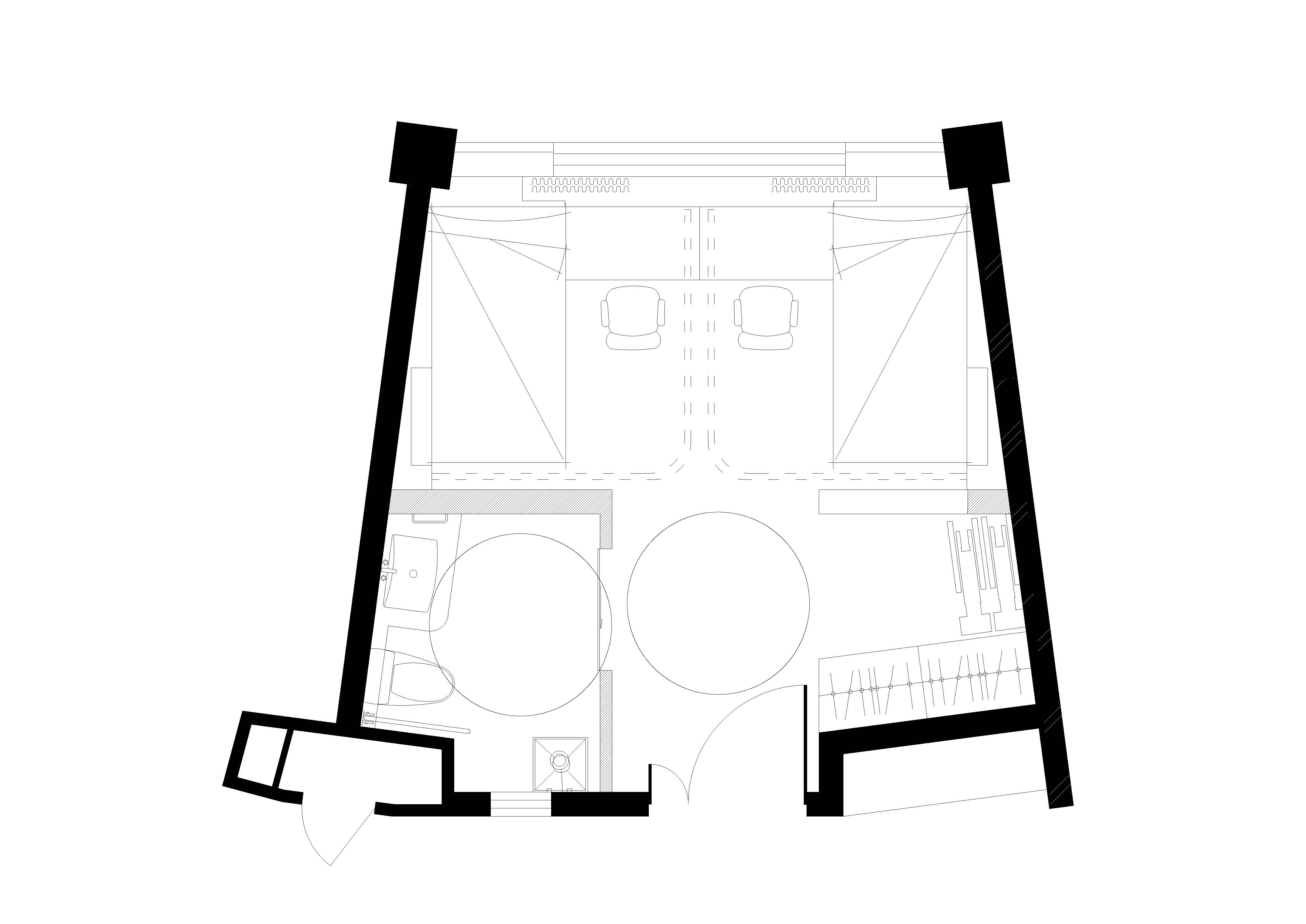 twin room WS Architects}
