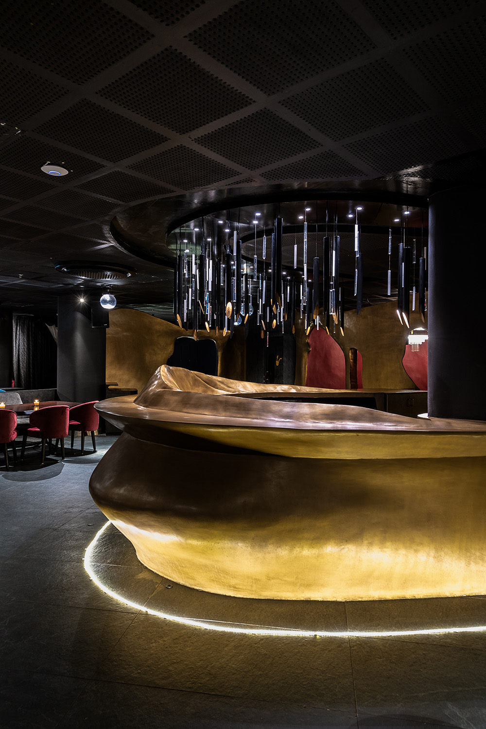 'The Bar' is design as the visual identity for the space. ©Photographix | Sebastian + Ira