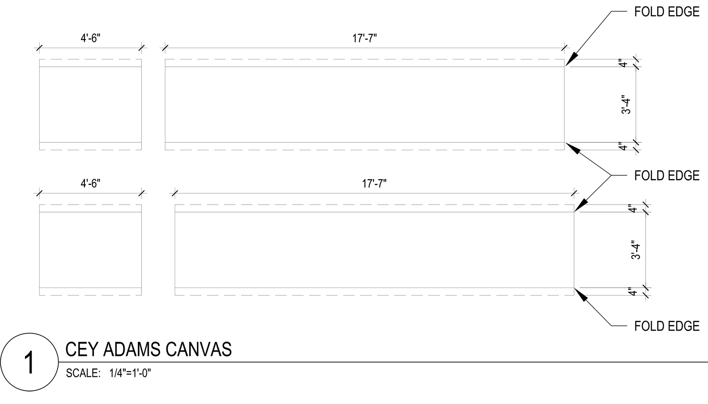 Dimensions for Cey Adams Artwork Reddymade}