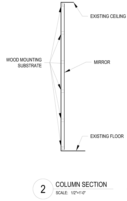 Column Detail Elevation Reddymade}