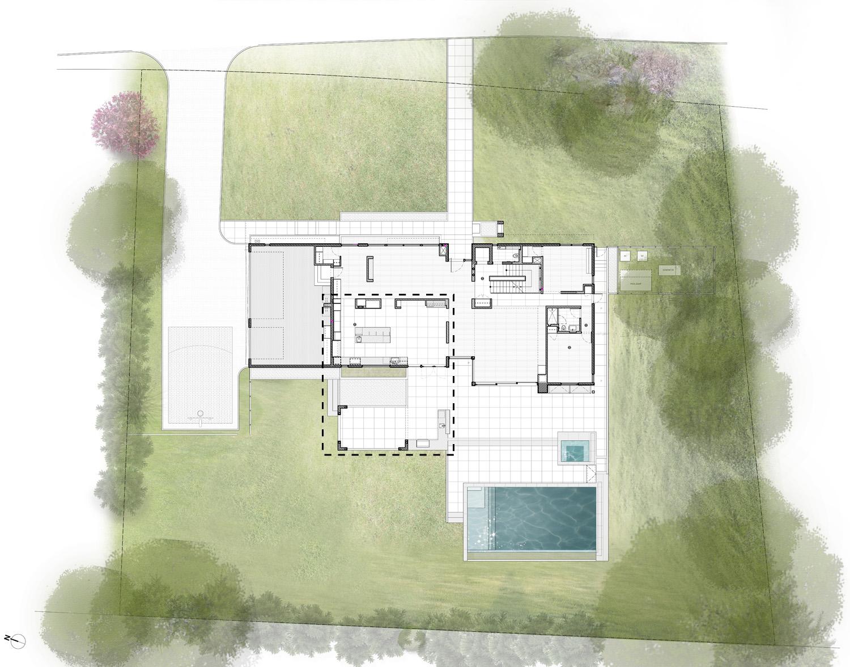 Site Plan SPG Architetcs